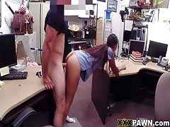 I will punish her dirty slutty ass right here, in my office!