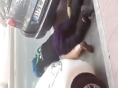 The practice of sex in the street