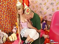 Teenyplayground - Bella Baby get cum covered pussy after wild teen fuck