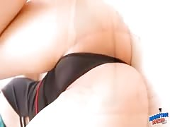 Big Natural Breasts On This Blonde Teen! Perfect Pussy & Ass