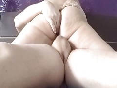On top and ass play - Deasupra si cu degetele in fundulet !