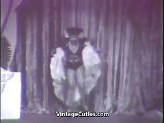 Sexy Latina Shows Her Erotic Dancing (1950s Vintage)